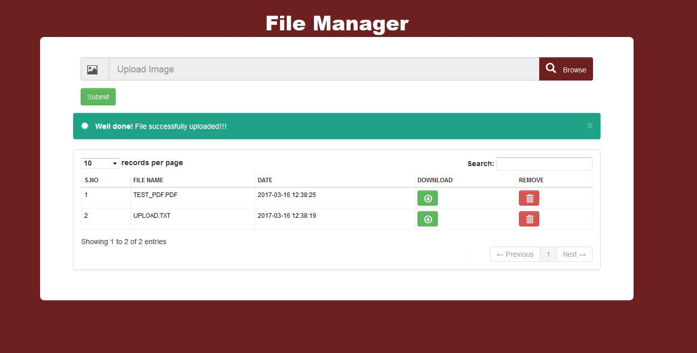 File manager upload hack and php