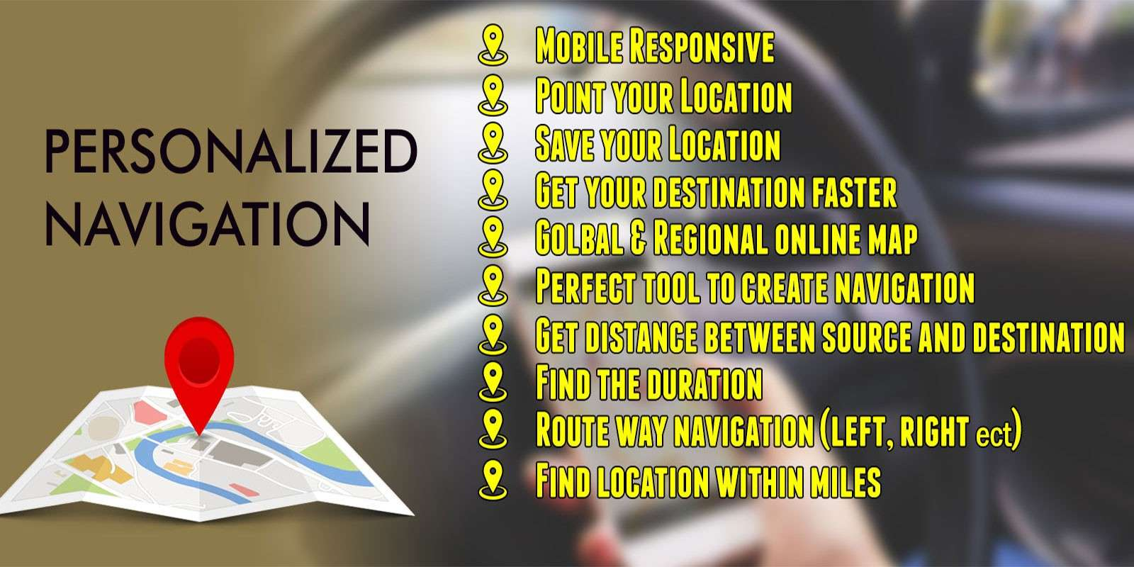 personalized map navigation