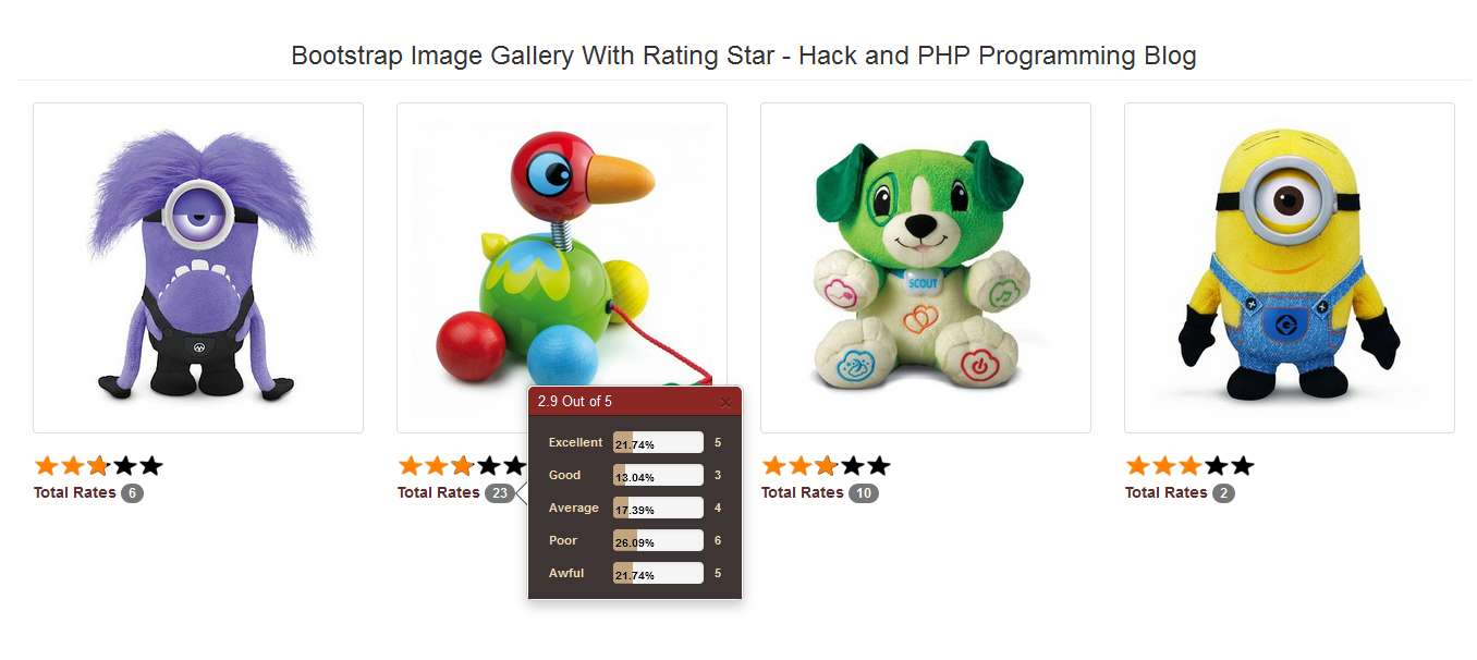 Rating star hackandphp programming blog